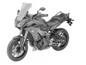 Yamaha TDM 09 2015