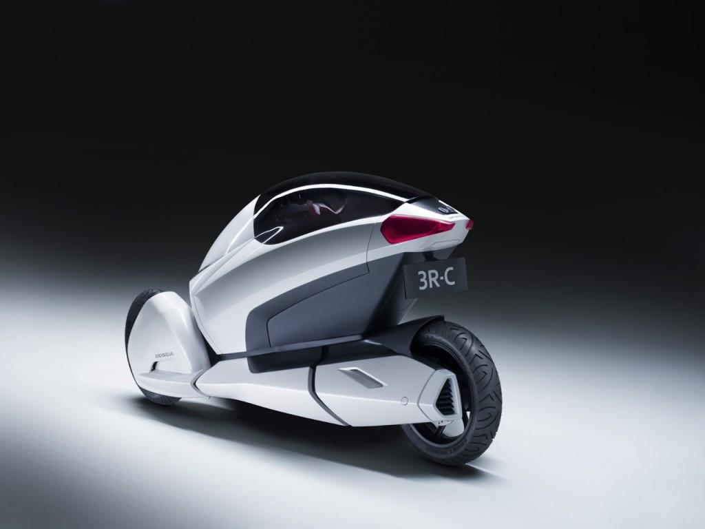Honda 3R-C Nuovo Prototipo a Tre Ruote