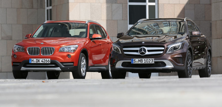 Mercedes GLA vs BMW X3