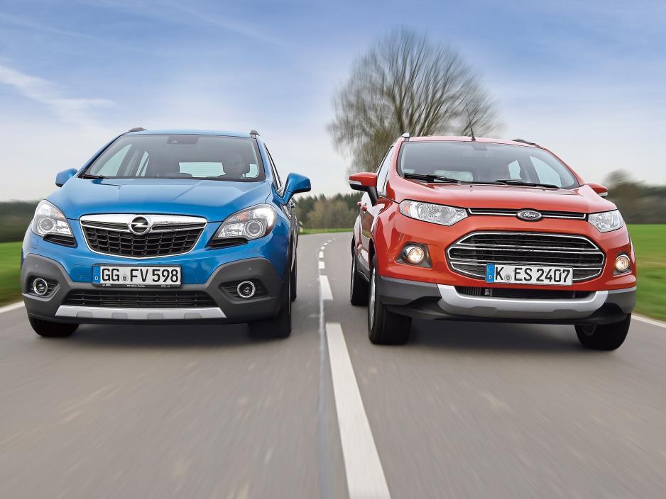 Confronto Opel Mokka e Ford Ecosport