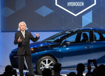 Michio Kaku portavoce per Toyota - Il Futuro dell'Idrogeno