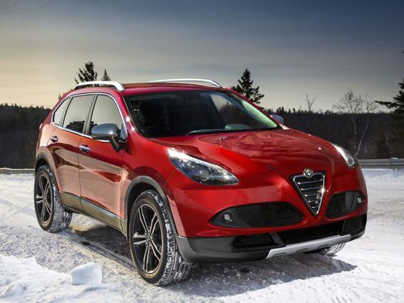 Il Nuovo Suv di Alfa Romeo