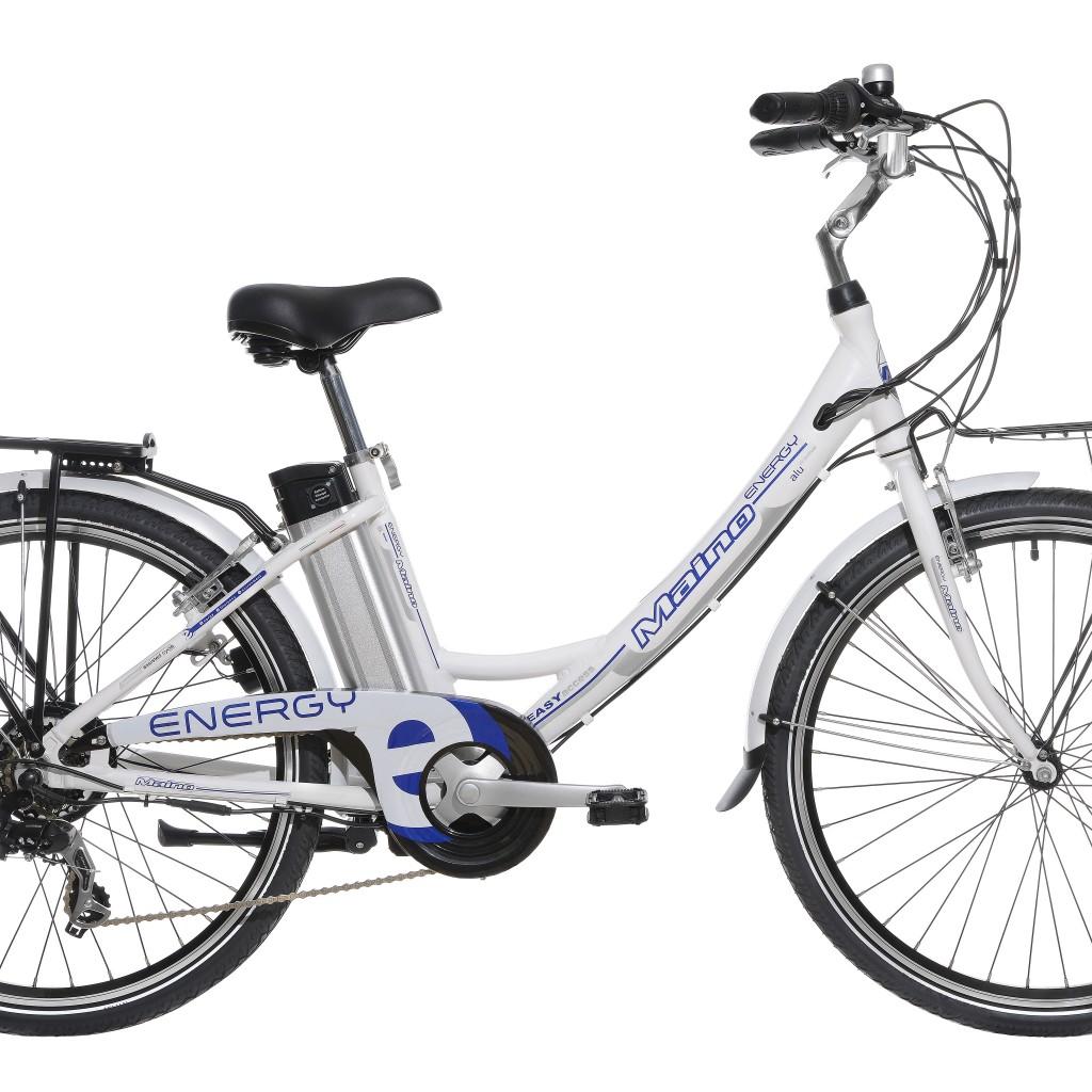 Bicicletta pedalata assistita maino energy