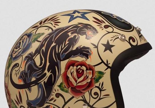 Caschi Tattoo DMD. Tra i caschi più amati dagli Harleisti