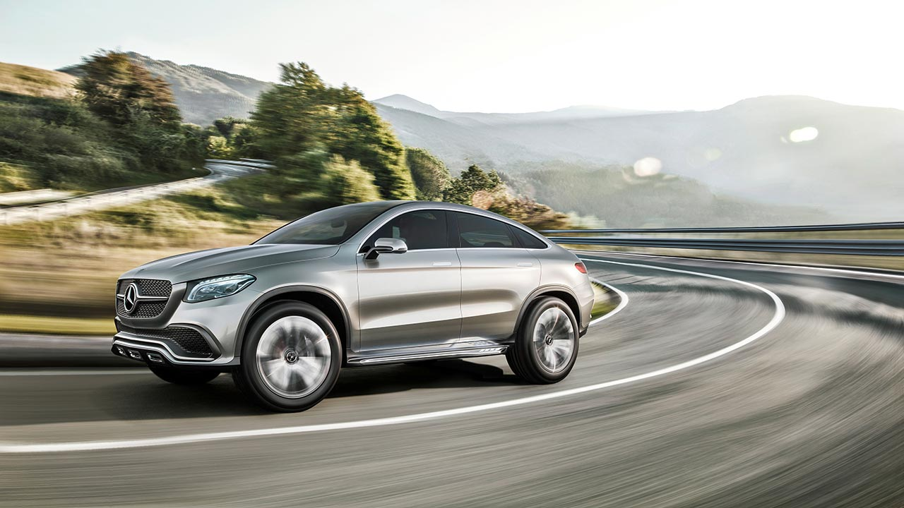 Mercedes Coupe Suv MLC