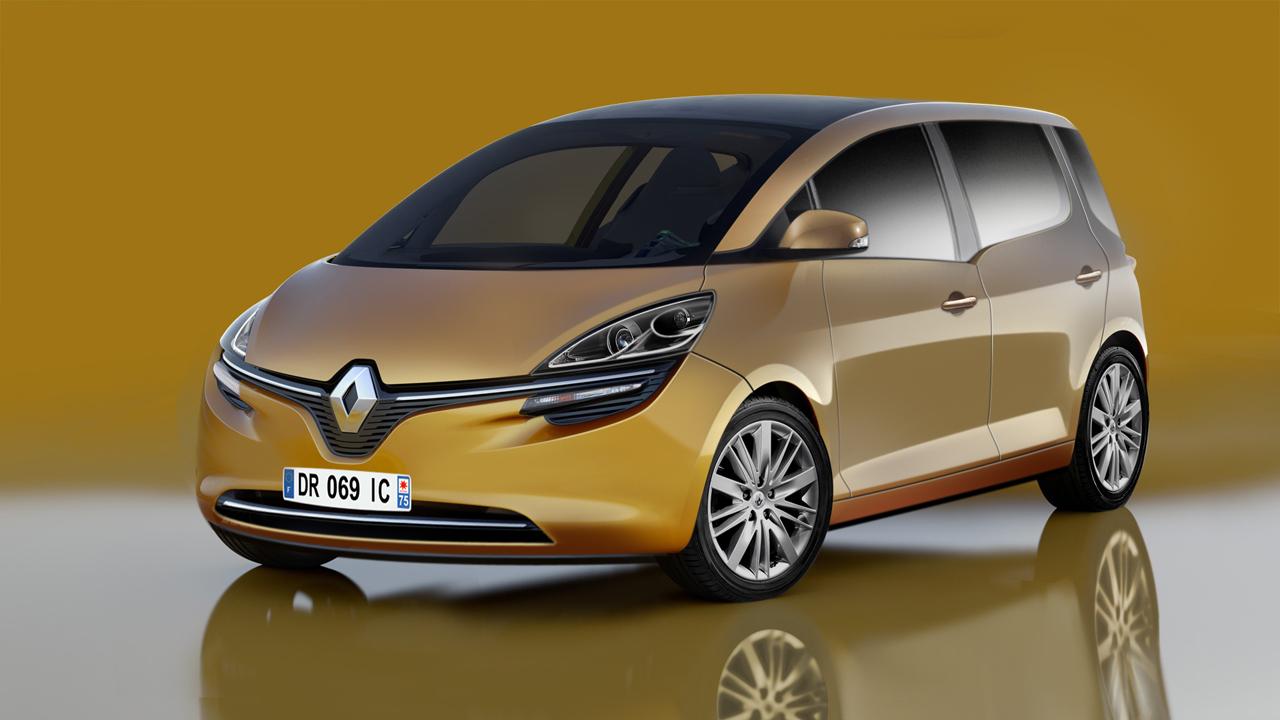 Monovolume Renault Scenic 2016