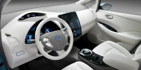 La Nissan Leaf Elettrica