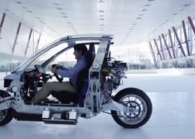 Lit Motors C1 – La Moto Elettrica Che Non Può Cadere!