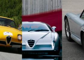 I 12 Prototipi Alfa Romeo Più Belli