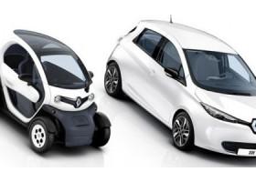 Renault Twizy e Renault Zoe
