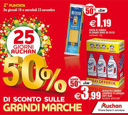 Auchan Catene da Neve Volantino