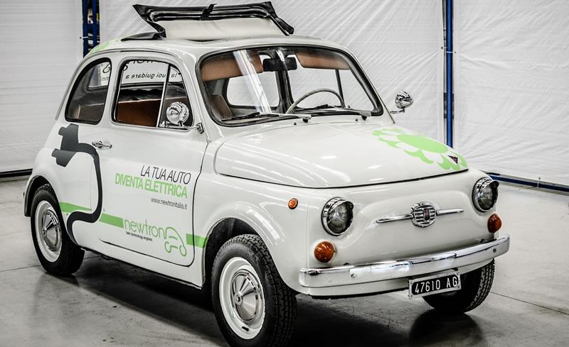 Trasformare la vecchia auto inquinante in una elettrica