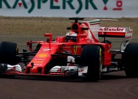 La nuova Ferrari SF70H di Formula 1 in pista!