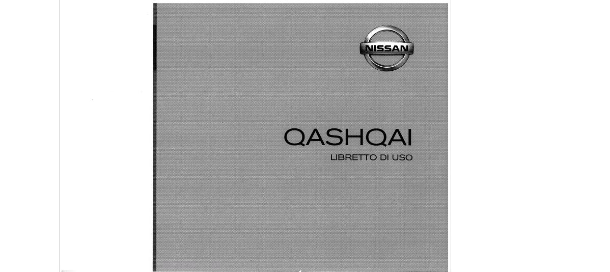 libretto istruzioni nissan qashqai