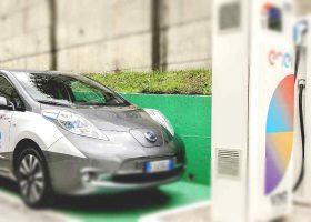 Quanto costa un pieno ad una colonnina ricarica auto elettriche?