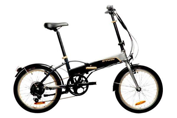 bici elettrica pieghevole da Decathlon