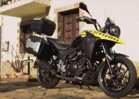Suzuki V-Strom 250. Il video ufficiale della presentazione