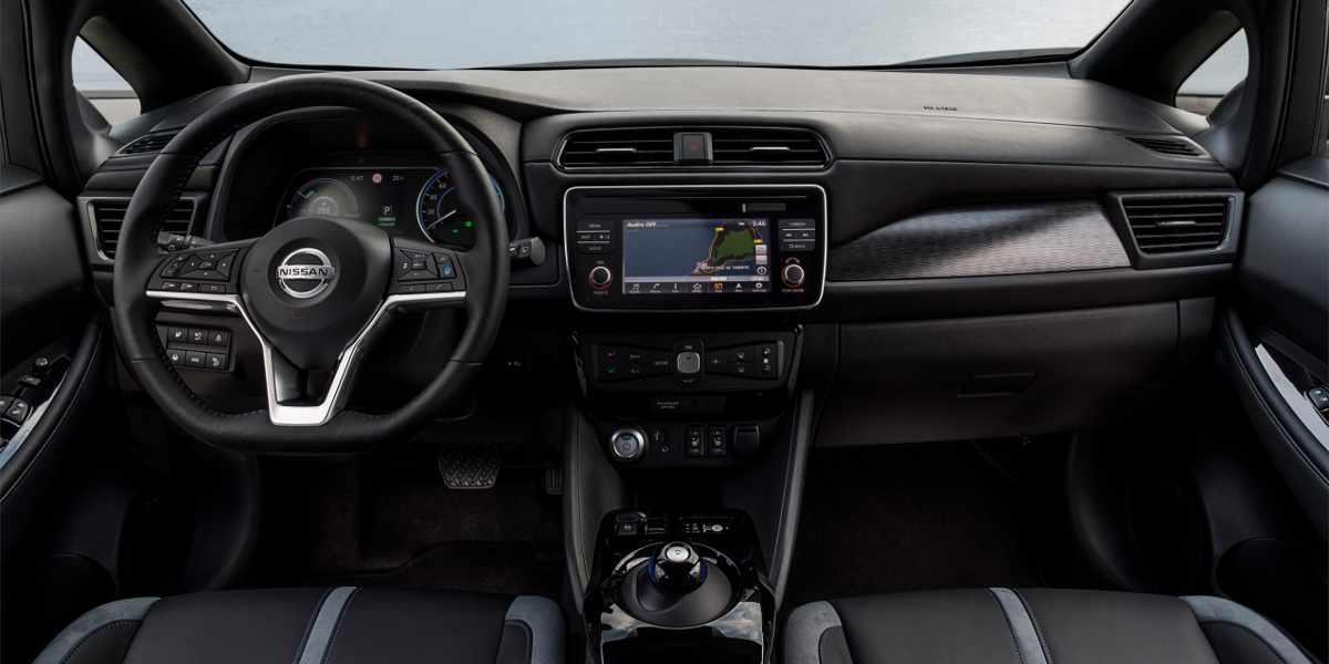 Nuova Nissan LEAF gli interni