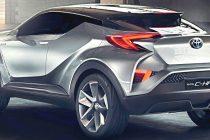 Auto ibride la Toyota CHR ibrida