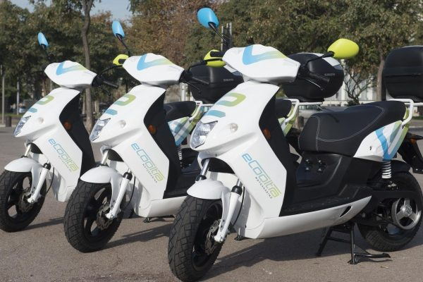 Scooter sharing elettrico eCooltra