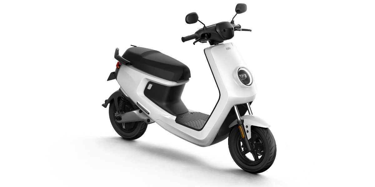 scooter elettrici NIU M+ Bianco