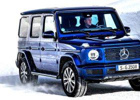 Nuova Mercedes Classe G 350 D Blu