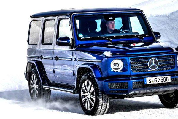 Mercedes Classe G 350 d blu