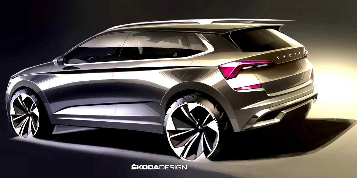SKODA KAMIQ SUV design