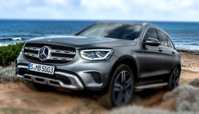 foto del nuovo Mercedes GLC