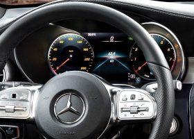 Gli interni della Mercedes GLC