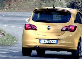 La Opel Corsa GSi in prova tra i tornanti