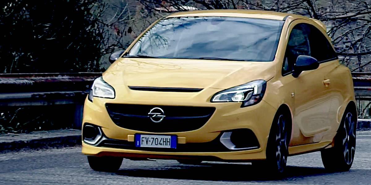 Opel Corsa GSi in prova 4