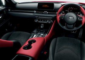 Gli interni della Toyota Supra