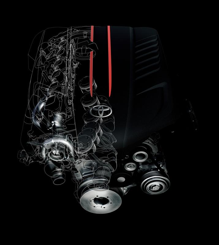 motore toyota supra