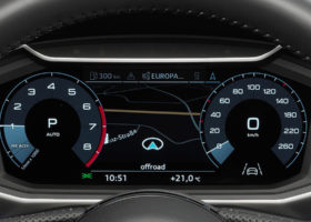 Audi A1 Citycarver le foto degli interni
