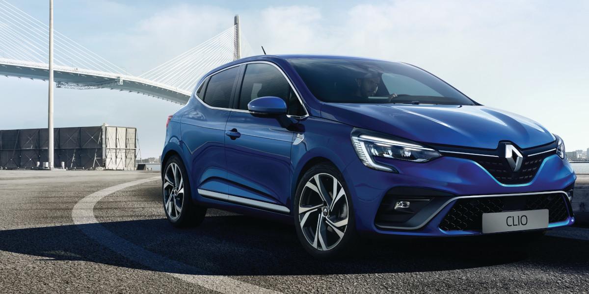 Nuova Renault CLIO RS Line Blu