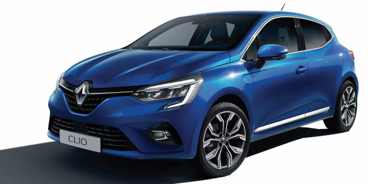 Nuova Renault Clio Blu