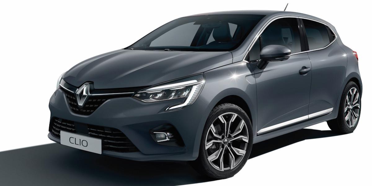 Nuova Renault Clio Grigio
