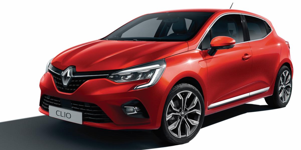 Nuova Renault Clio Rossa