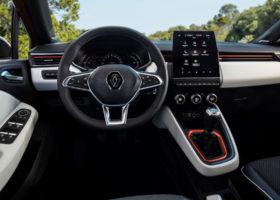 Gli interni della nuova Renault Clio