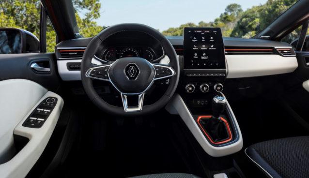 Nuova Renault Clio Interni