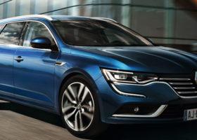 Foto della Talisman Sporter. La gallery della station wagon della Renault.