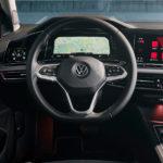 nuova Volkswagen Golf interni