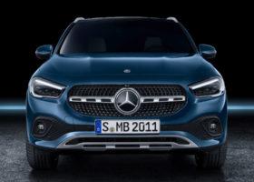 I nuovi sistemi di sicurezza della Mercedes GLA